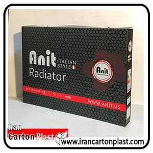 بسته بندی رادیاتور - صنعت بسته بندی کارتن پلاست