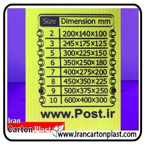 پستی2 - صنعت بسته بندی کارتن پلاست