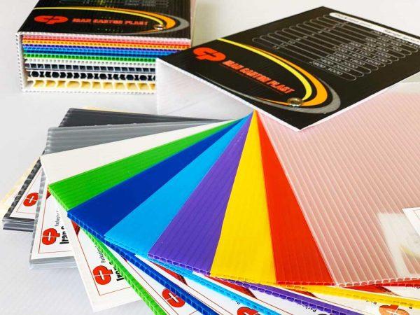 رنگ های کارتن پلاست