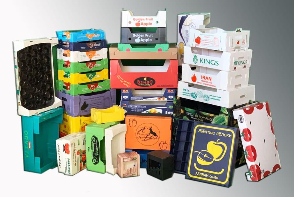 جعبه میوه ایران کارتن پلاست