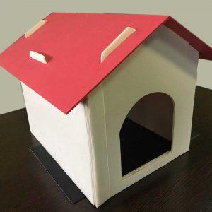 خانه حیوانات کارتن پلاست