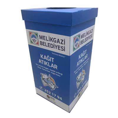 سطل بازیافت کارتن پلاست