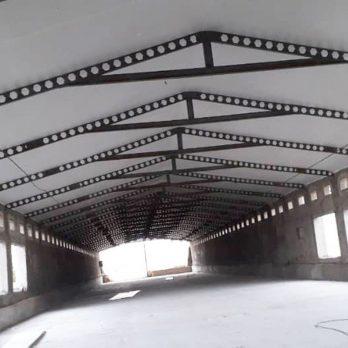 پوشش سقف سوله