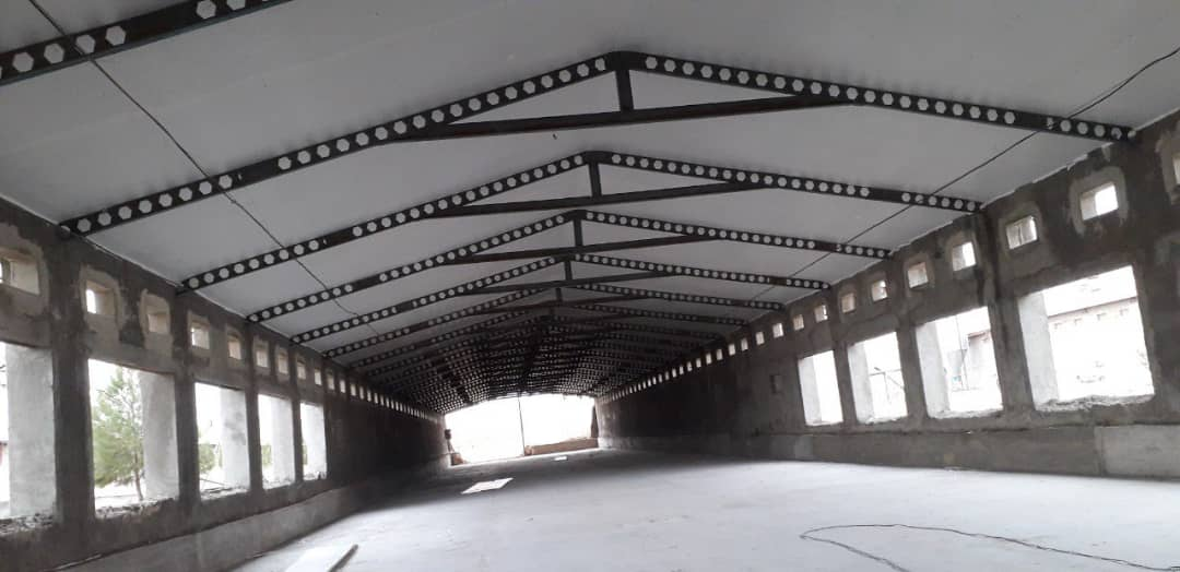 2020111 - پوشش سقف سوله با کارتن پلاست