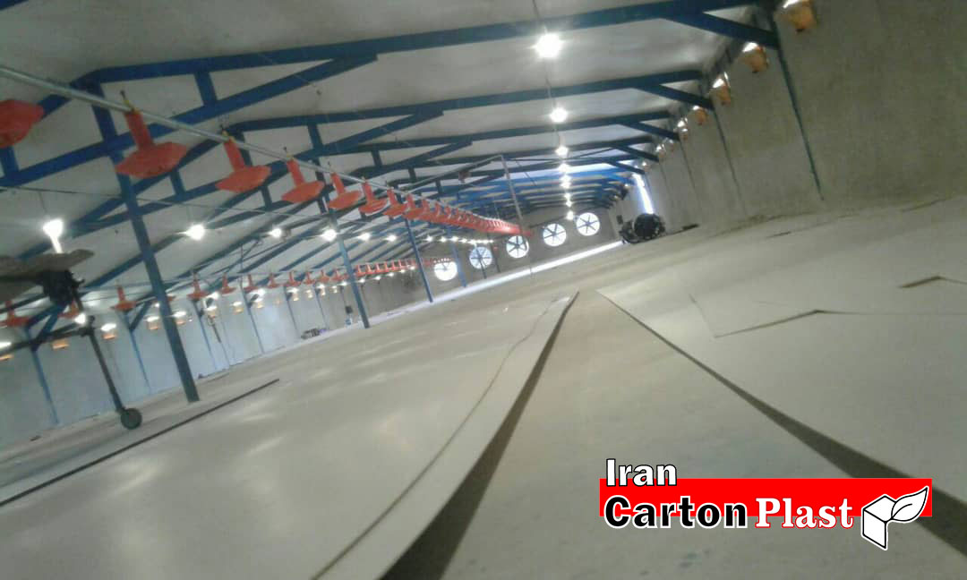 پوشش سقف مرغداری