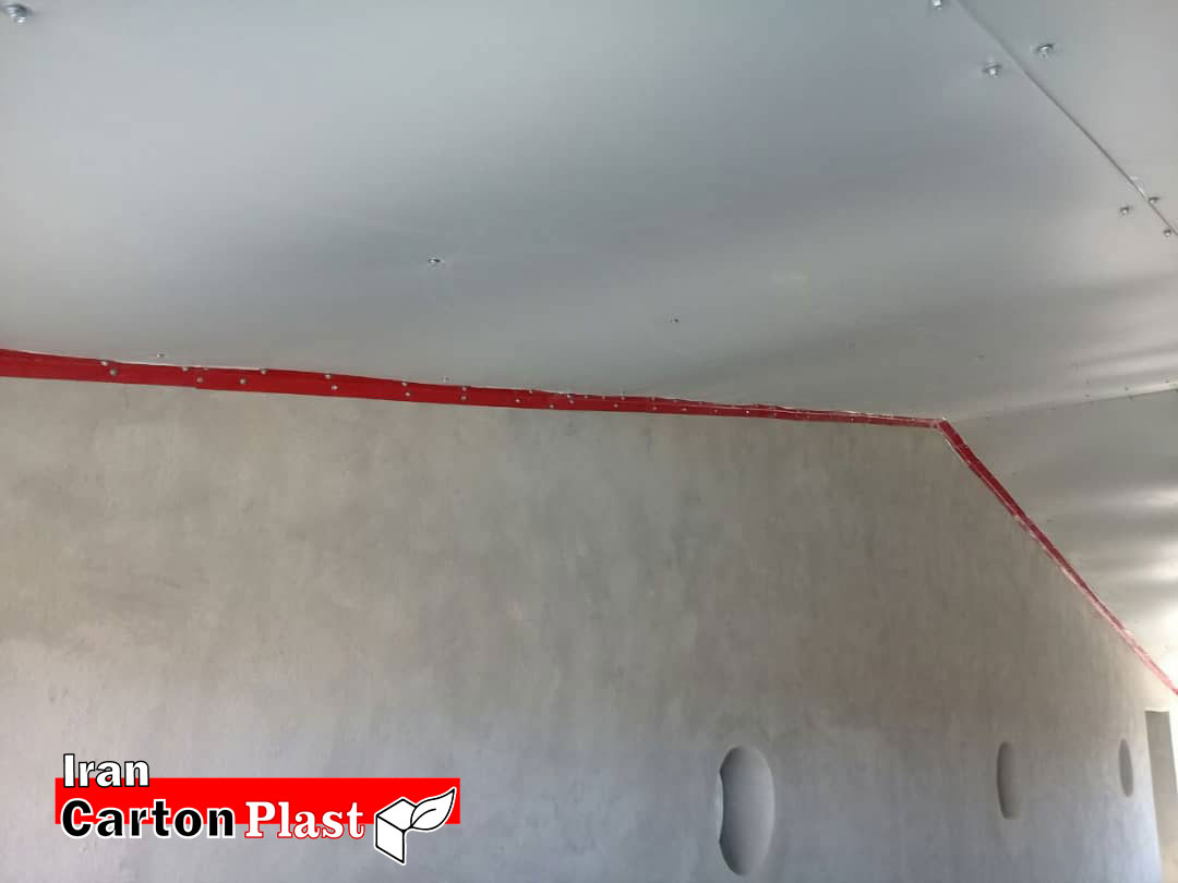 2020121 - پوشش سقف سوله با کارتن پلاست