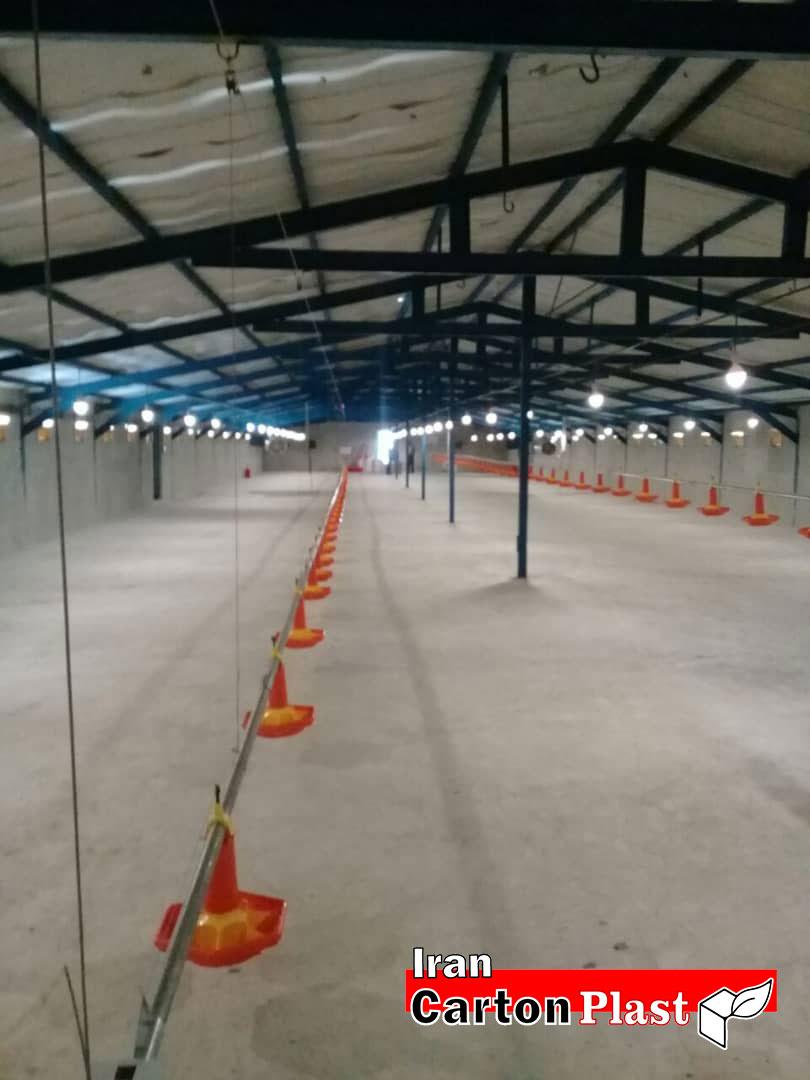 2020123 - پوشش سقف سوله با کارتن پلاست