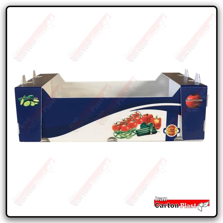 400m - جعبه گوجه فرنگی کارتن پلاست