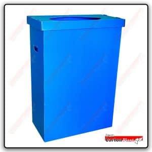 سطل بازیافت 230 لیتری-کارتن پلاست