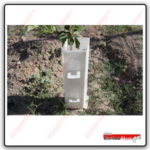 corriflute tree guard1 - محافظ نهال کارتن پلاست
