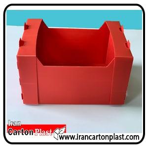 جعبه سیب 14 کیلویی کارتن پلاست