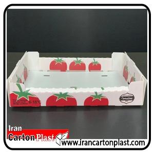 جعبه گوجه فرنگی کارتن پلاست