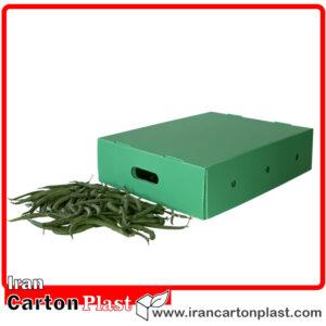 3 300x300 - جعبه بسته بندی لوبیا سبز و جعبه کلم کارتن پلاست
