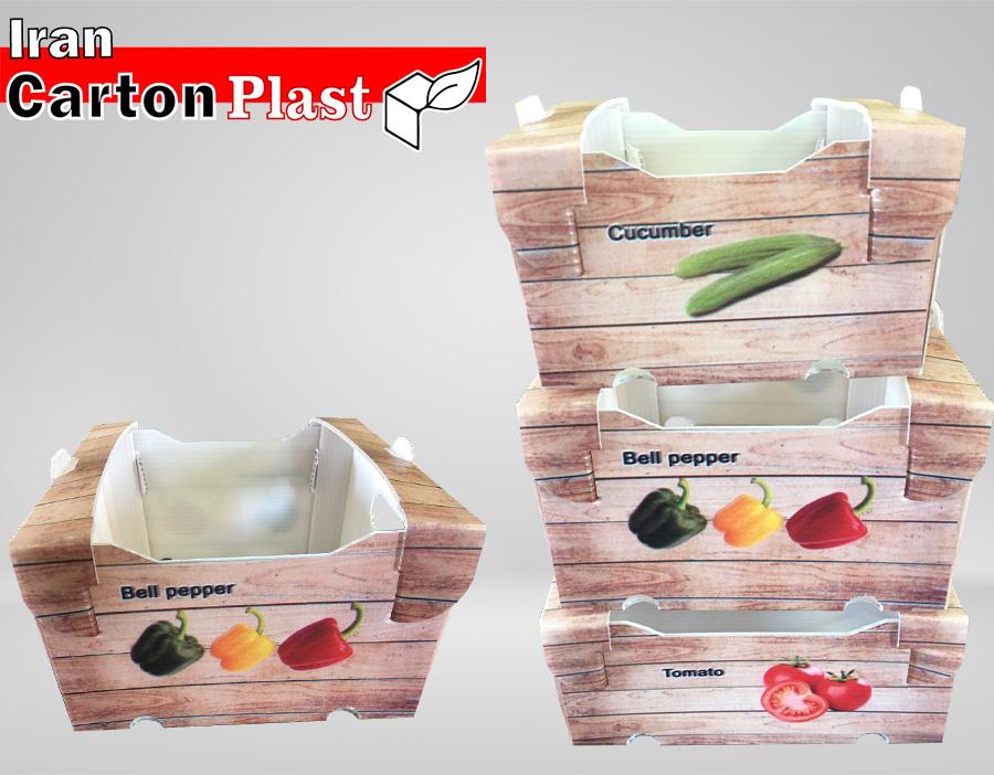 1 - جعبه میوه لوکس صادراتی، ضمانت زیبایی و تازگی