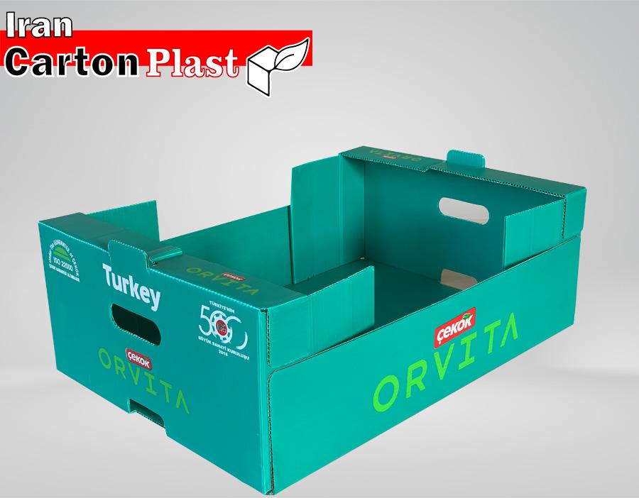 4 - جعبه میوه لوکس صادراتی، ضمانت زیبایی و تازگی