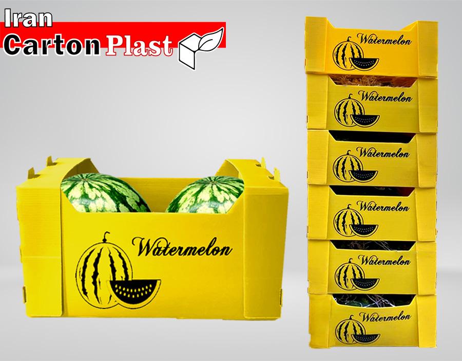 7 - جعبه میوه لوکس صادراتی، ضمانت زیبایی و تازگی