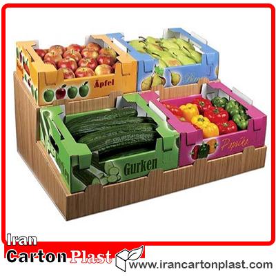 cartonplast fruitbox - جعبه میوه لوکس صادراتی، ضمانت زیبایی و تازگی